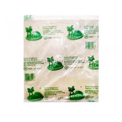 """Hawker Paper 小贩纸 D-12""""x11.5"""" - 60pcs/10pkt/bundle"""