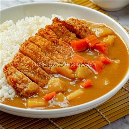 Japan Golden Extra Hot Curry Mix 日式黄金特辣咖喱块 S&B - 220g/pkt